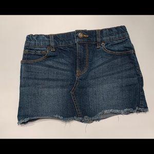 Girls Lucky Brand Denim Sofia Mini Skirt Sz 6